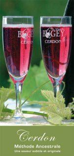 Brochure du Cerdon, vin du Bugey