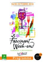 Couverture du programme du Fascinant Week-End en Bugey