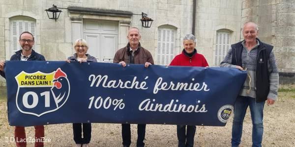 Marché de producteurs au Château de Champdor